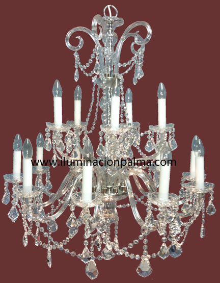 Restauracion de lamparas de cristal laton bronce - Venta de lamparas antiguas ...